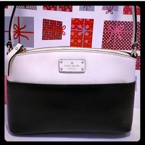 Kate Spade ♠️ Black/ White Mini CrossbodySling Bag
